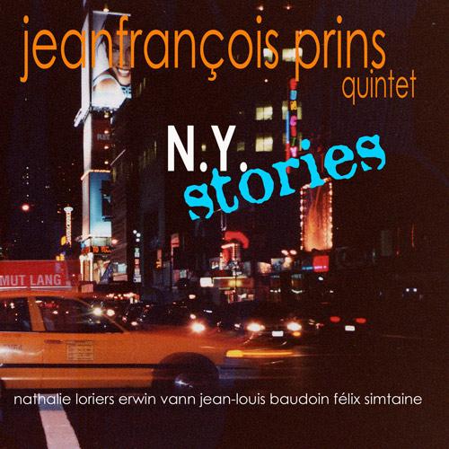 Jeanfrancois Prins - album new york stories - GAM Music