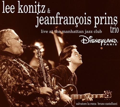 lee-konitz jeanfrancois-prins live - GAM Music