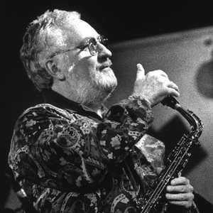 Lee Konitz - american jazz saxophone legend - GAM Music
