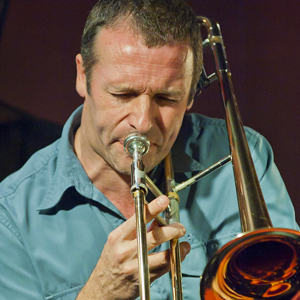 Phil Abraham - belgian jazz trombone vocals - GAM Music